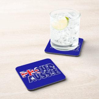 proud Aussie Beverage Coasters