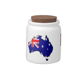 proud Aussie Candy Dishes