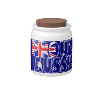 proud Aussie Candy Jars