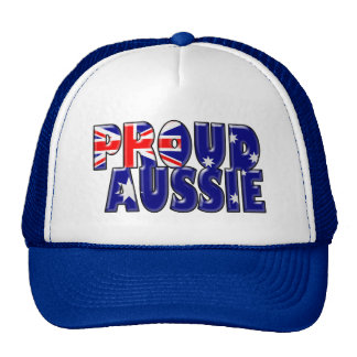 proud Aussie Trucker Hat