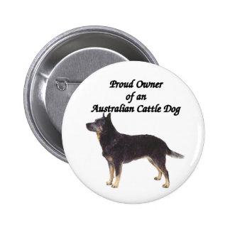 Proud Australian CattleDog Blue Pins