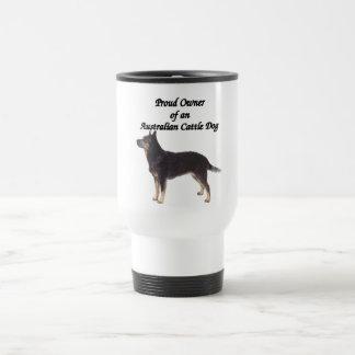 Proud Australian CattleDog Blue Travel Mug