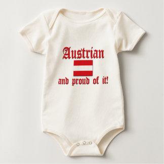 Proud Austrian Baby Bodysuit