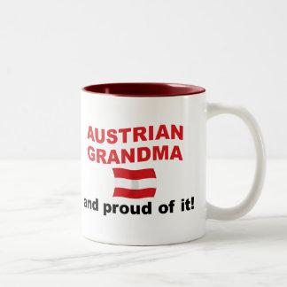 Proud Austrian Grandma Two-Tone Coffee Mug