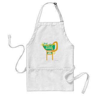 Proud Author Retro Style Diner Sign Adult Apron