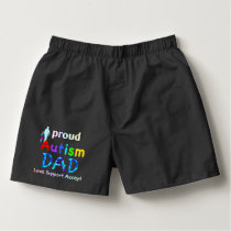 Proud Autism Dad Boxers