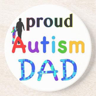 Proud Autism Dad Coaster