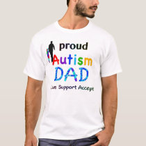 Proud Autism Dad T-Shirt
