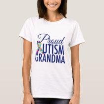 Proud Autism Grandma T-Shirt