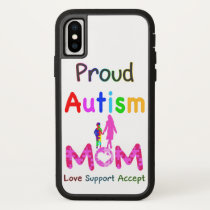 Proud Autism Mom iPhone X Case