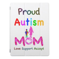 Proud Autism Mom iPad Pro Cover