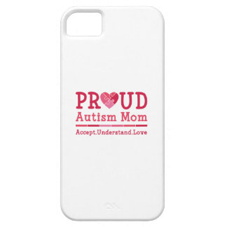 Proud Autism Mom iPhone SE/5/5s Case