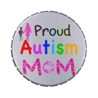 Proud Autism Mom Jelly Belly Tins