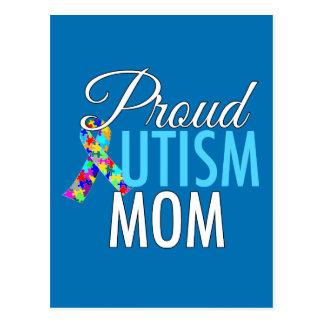 Proud Autism Mom Postcard