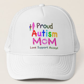 Proud Autism Mom Trucker Hat