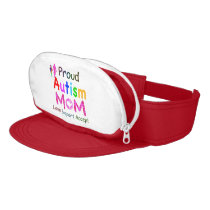 Proud Autism Mom Visor