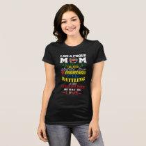 Proud Autism Mother. T-Shirt