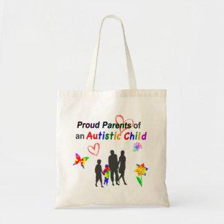 Proud Autism Parents Tote Bag