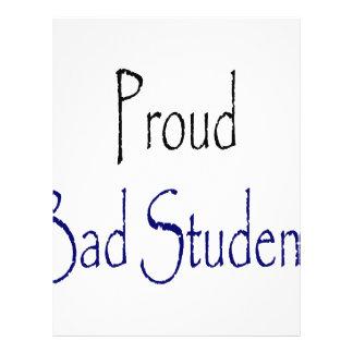 Proud Bad Student Flyer