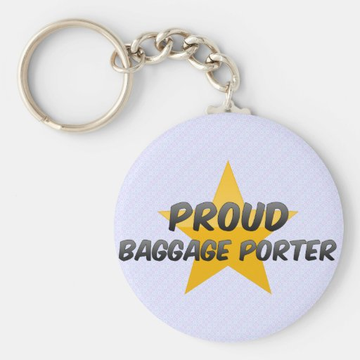 Proud Baggage Porter Keychains