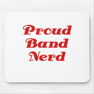 Proud Band Nerd Mouse Pad