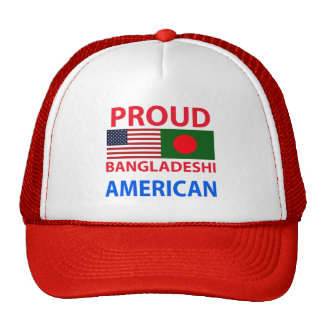 Proud Bangladeshi American Trucker Hat