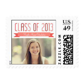 Proud Banner Custom Graduation Stamp