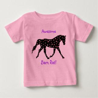 Proud Barn Rat Equestrian Baby T-Shirt