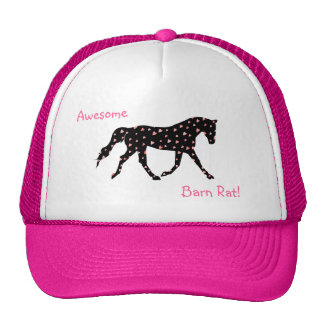 Proud Barn Rat Equestrian Trucker Hat