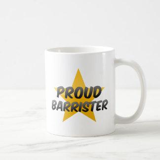 Proud Barrister Coffee Mugs