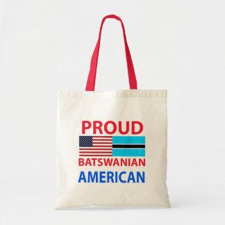 Proud Batswanian American Canvas Bags