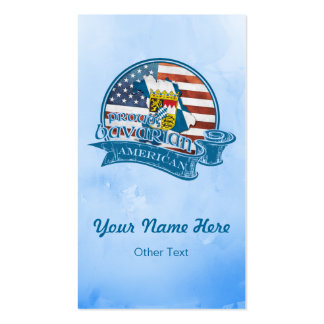 Proud Bavarian American Business Cards