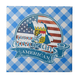 Proud Bavarian American Ceramic Tile
