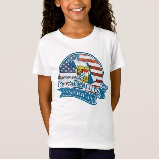 Proud Bavarian American Children's T-Shirt