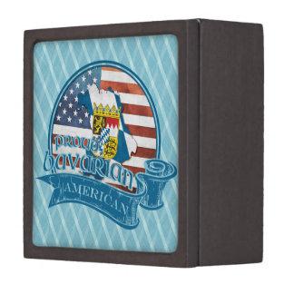 Proud Bavarian American Gift Box