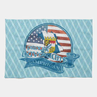 Proud Bavarian American Kitchen Towel