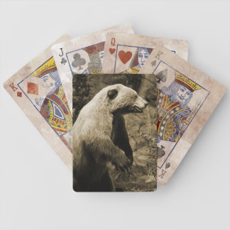Proud Bear Bicycle Playing Cards