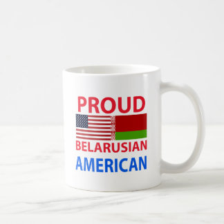 Proud Belarusian American Coffee Mug
