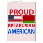 Proud Belarusian American Greeting Cards