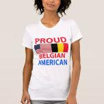 Proud Belgian American T-shirts