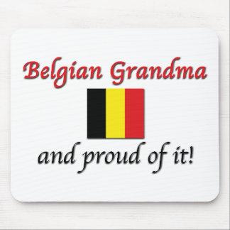 Proud Belgian Grandma Mouse Pad