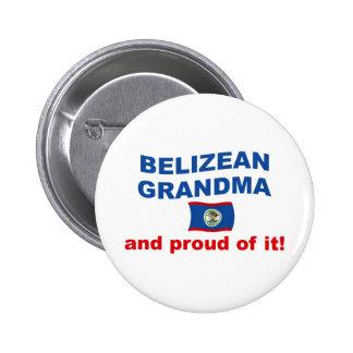 Proud Belizean Grandma Button