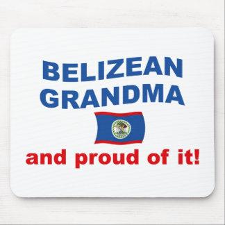 Proud Belizean Grandma Mouse Pad