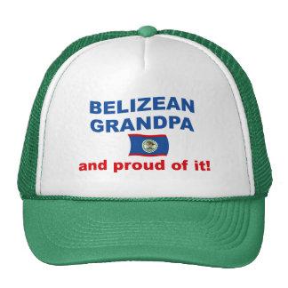 Proud Belizean Grandpa Trucker Hat