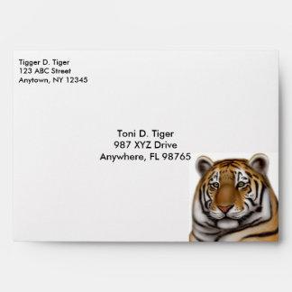 Proud Bengal Tiger Envelope