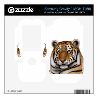 Proud Bengal Tiger Samsung Gravity 2 Skin