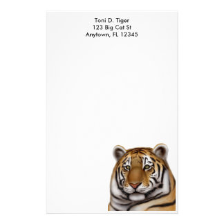 Proud Bengal Tiger Stationery