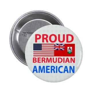 Proud Bermudian American Pinback Button