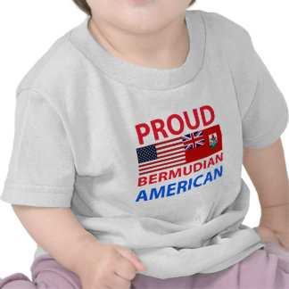 Proud Bermudian American T Shirt