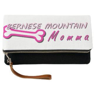 Proud Bernese Mountain Momma Bone Clutch